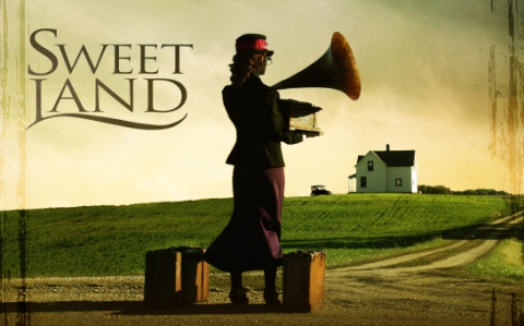 Sweet Land poster card